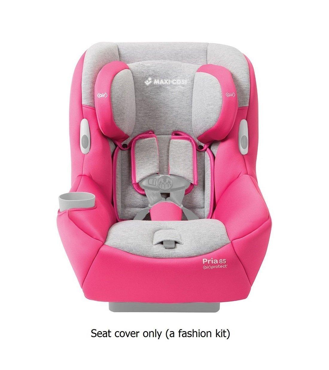 Maxi-Cosi Pria 85 Car Seat Fashion Kit, Passionate Pink (Car Seat Sold Separately)