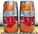 Genuine Part Toyota Land Cruiser Landcruiser Fj82 Fj80 Rear Tail Lights 91 92 93 94 95 96 97