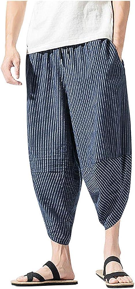 NINGNETI Pantalones Deportivos de Verano para Hombre Pantalones de ...