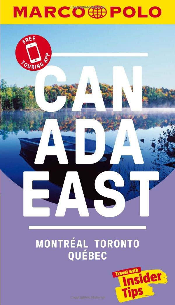 Canada East Marco Polo Pocket Travel Guide 2019 - with pull out ...