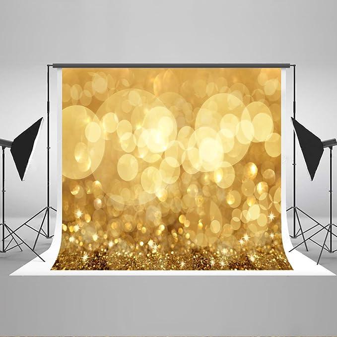 Katehome Photostudios 2 2x1 5m Gelb Glitzer Photography Kamera