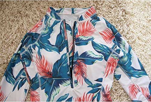 Swimsuit Floral Sleeve Protection XX Large