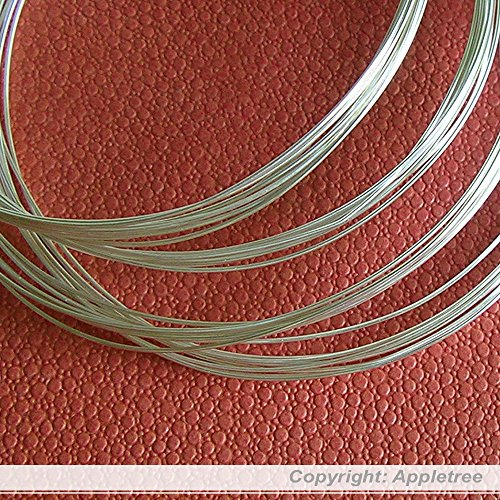 5FT Solid Sterling Silver Wire 24ga Round - 24 gauge - Half Hard Made in USA
