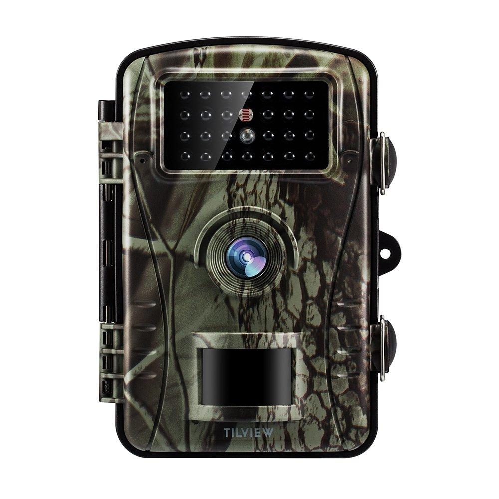 Tilview Cámara de Caza 12MP 1080P HD Cámara de Vigilancia Trail Cámara IR LEDs Visión Nocturna hasta 20M IP66 Impermeable Bestdeal Product