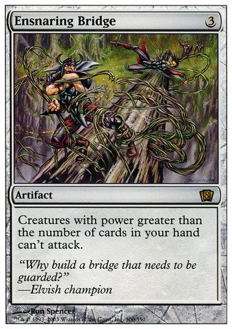Magic: the Gathering - Ensnaring Bridge - Eighth Edition - Foil by Magic: the Gathering