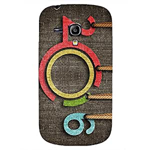 2016 Happy New Year Phone Case Cover For Samsung Galaxy S3mini Happy New Year Colorful Design