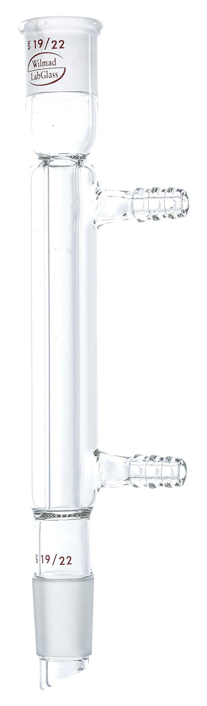 Wilmad-LabGlass ML-560-704 Liebeg Condenser, Standard Taper 19/22, 110mm Jacket Length