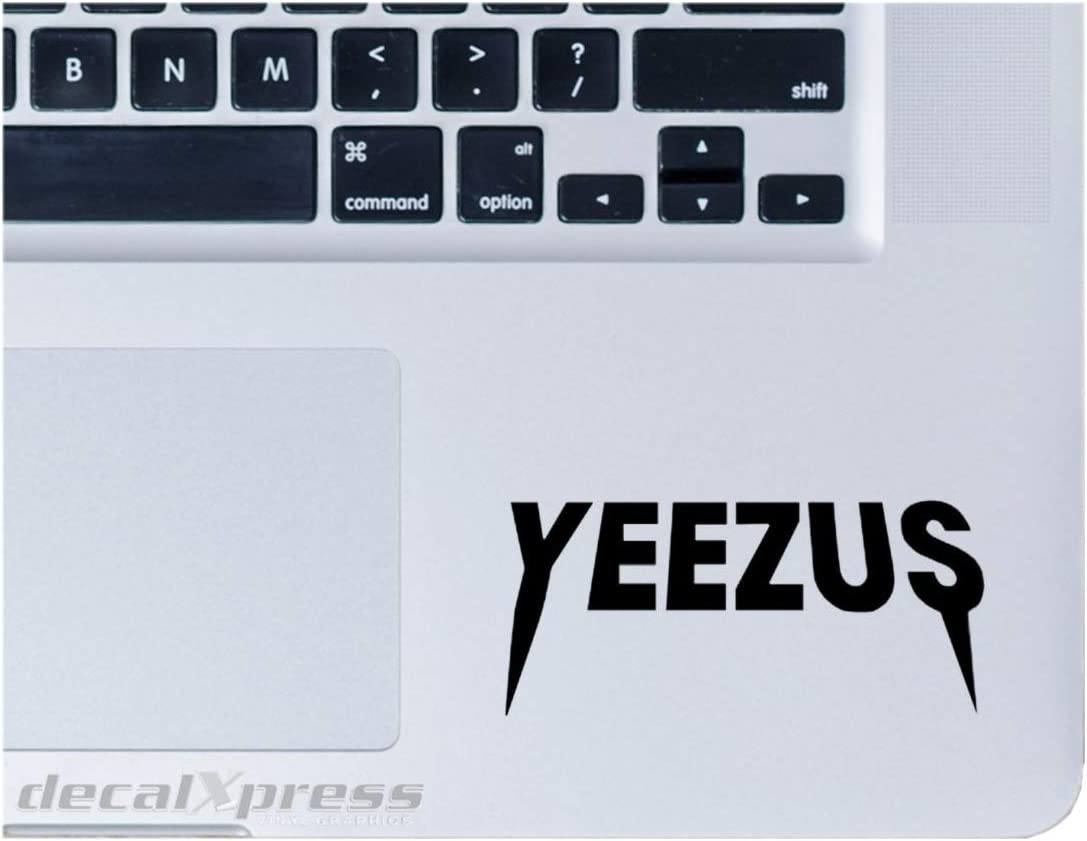 Yeezus Yeezy Logo Kanye West MacBook Laptop Decal - The Life of Pablo - TLOP - Yeezy Shoes