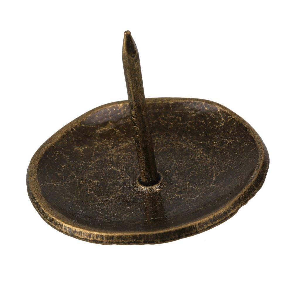 BQLZR 26 x 23mm Bronze Europ/äische Antike Innen Dekorative Wabe N/ägel f/ür M/öbel Befestigung Praktisch Packung von 50