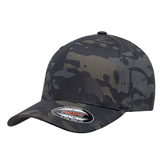 f5c804b8453 Flexfit Original Multicam and Multicam Black Pattern Hats 6277 (6277 MC  Black-S