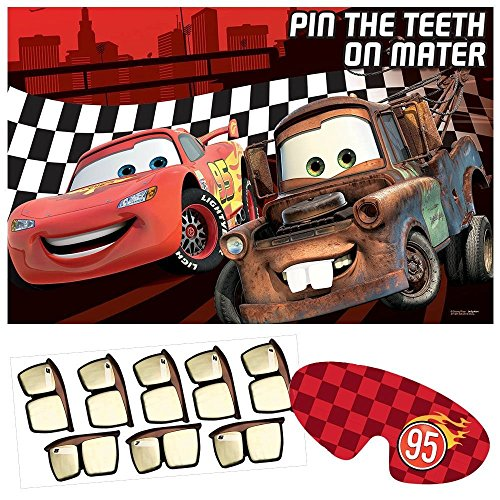 Disney's Cars Dream Pin the Headlight Party Game (Disney Dream Pin)