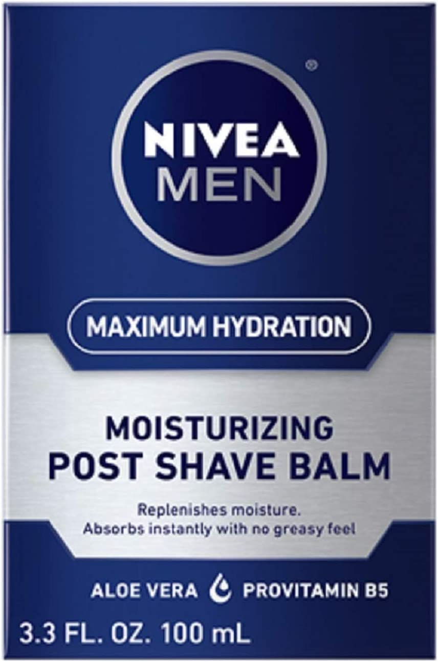 NIVEA FOR MEN Moisturizing Post Shave Balm 3.30 oz