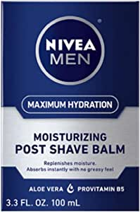 Nivea Replenishing Post Shave Balm by Nivea for Men - 3.3 oz After Shave, 100 ml