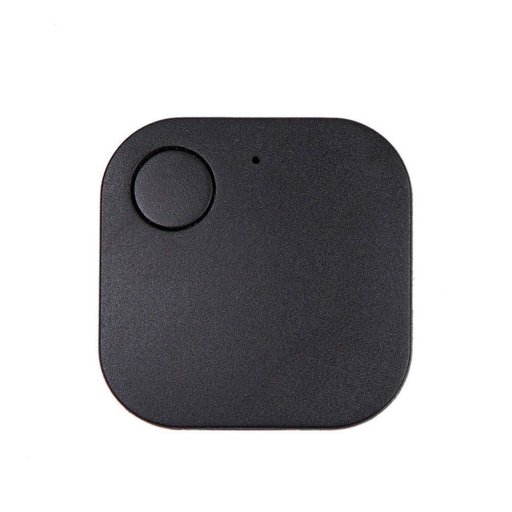 HJuyYuah Car Motor GPS Tracker Kids Pets Wallet Keys Alarm Locator Realtime Finder Device (Black)