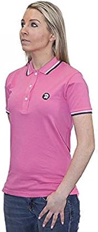 Trojan Records - Polo - para mujer rosa rosa 40: Amazon.es: Ropa y ...