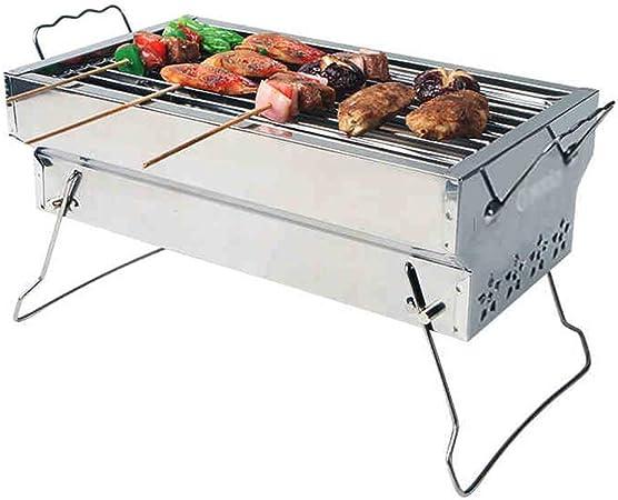 JU FU BBQ Parrilla, Parrilla al Aire Libre for usos domésticos 3-5 Personas Barbacoa de carbón al Aire Libre Herramientas de Carbono Grill Anafe @@ (Color : A): Amazon.es: Hogar