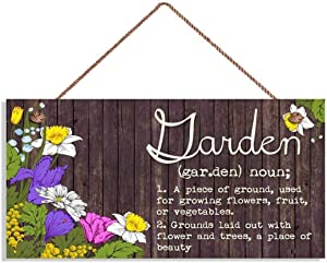 LPLED Wooden Plaque Size: 10x5 inches,Style: Rustic/Shabby Chic(YZ981)
