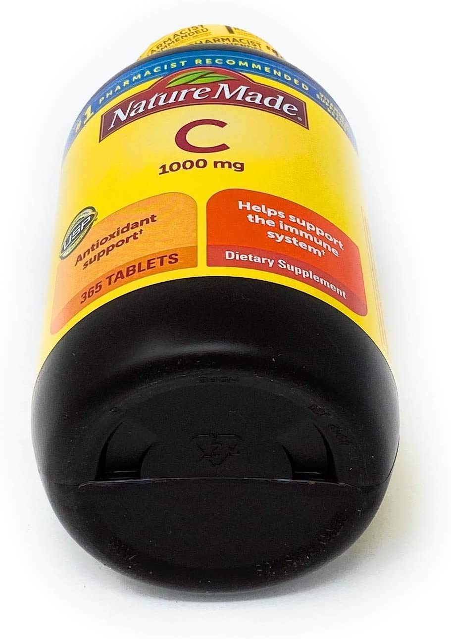 Nature Made Vitamin C 1000 mg 365 Count Tablets