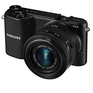 Amazon.com : Samsung NX2000 20.3MP CMOS Smart WiFi Mirrorless ...