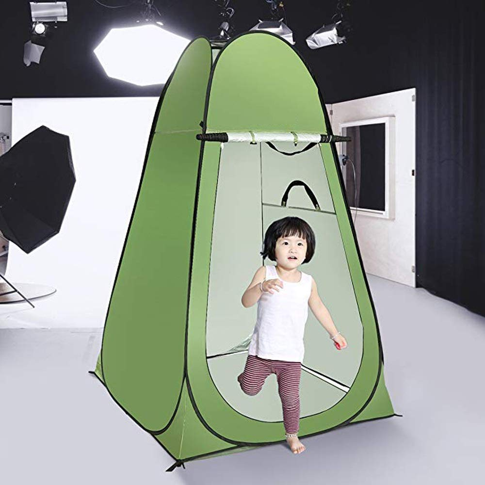Amazon.com : XUMINGZP Camping Tent Outdoor Automatic Tents Toilet Shower Changing Room Outdoor Shelter with Carrying Bag190115115cm : Sports & Outdoors