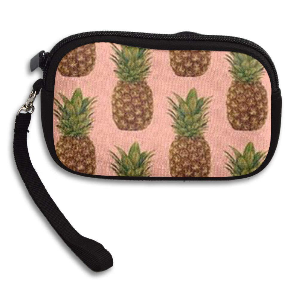 HACVREQ Unisex Personalized Wallet,Pineapples Purse Bag Woman Ladies Men Gentlemen