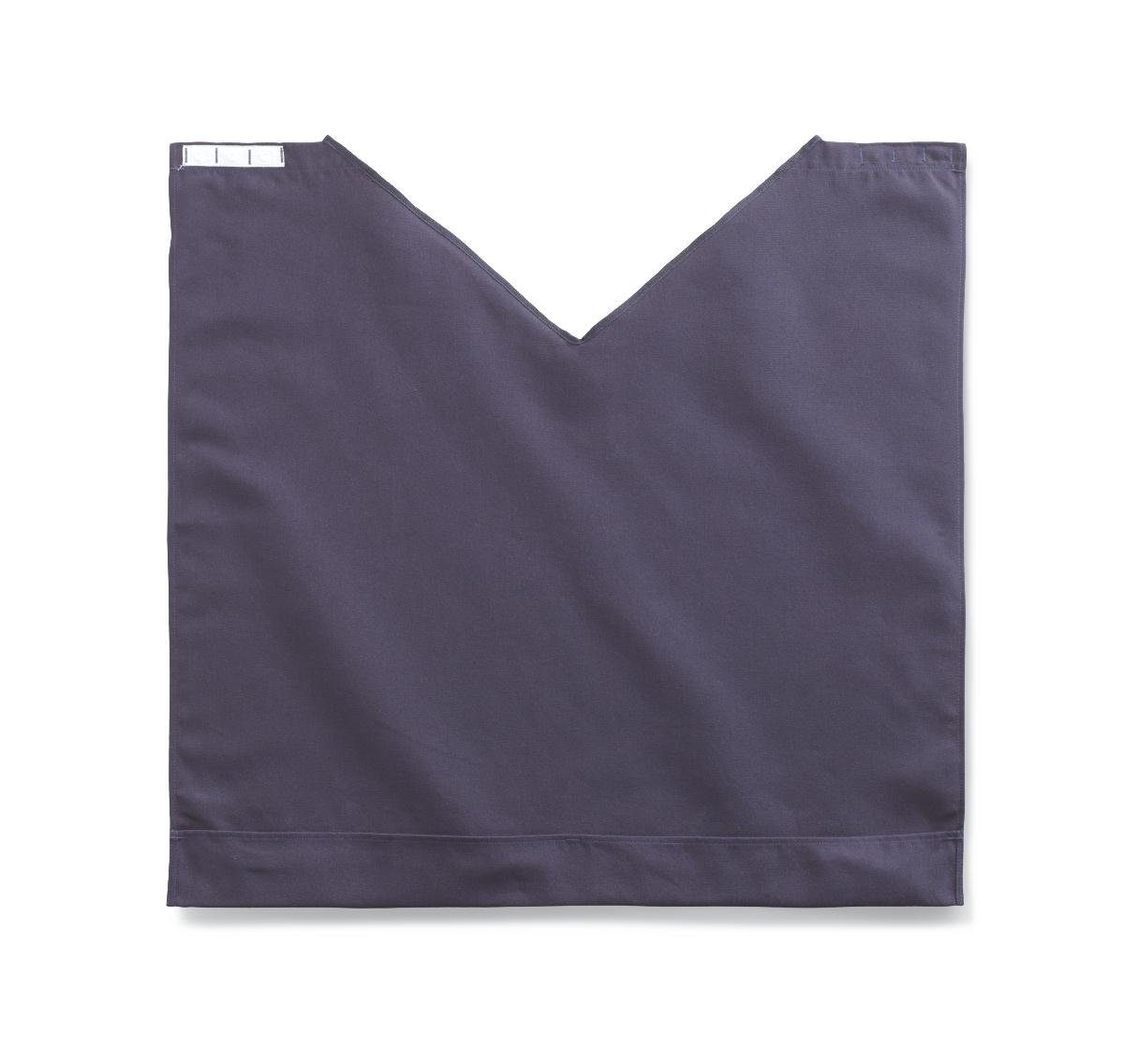 Medline MDT014118NAVY Comfort Fit Dignity Napkin with Snap Closure, 27.5'' x 27'', Navy Blue (Pack of 24)