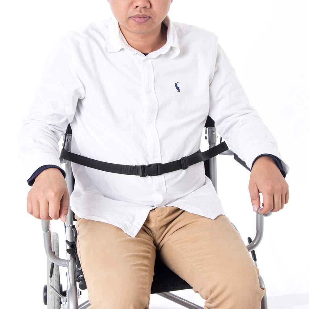 QEES ZYH520 - Cinturón de seguridad para silla de ruedas: Amazon ...