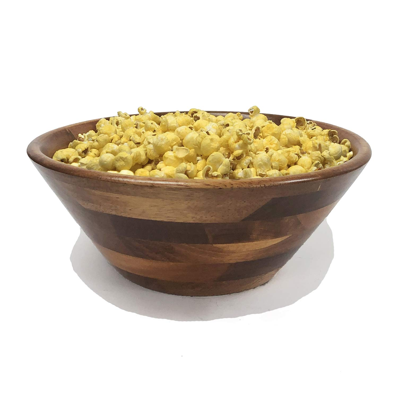 Walnut Woodard /& Charles Wood Salad Bowl 11-Inch