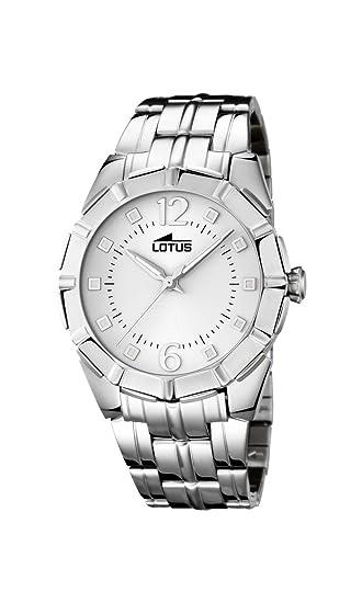 Lotus 15987/1 - Reloj de Pulsera Mujer, Acero Inoxidable, Color Plateado: Amazon.es: Relojes