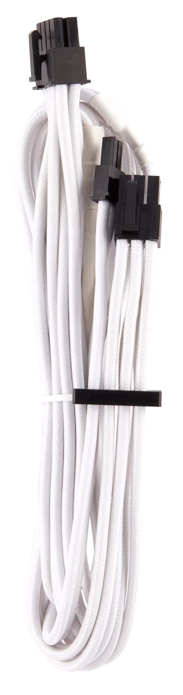 CORSAIR Premium Individually Sleeved PSU Cables Starter Kit - Black, 2 Yr Warranty, for Corsair PSUs by Corsair (Image #7)