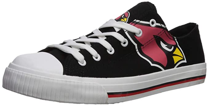 e582b5acdc2ba FOCO NFL Mens Low Top Big Logo Canvas Shoes