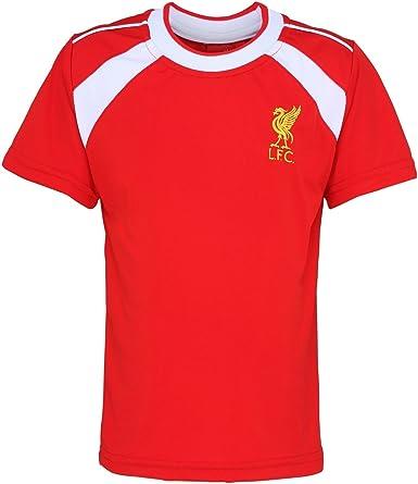 Liverpool FC - Camiseta Oficial Manga Corta para niños - Fútbol/Deporte/Gym/Running (12/13 Años) (Rojo): Amazon.es: Ropa y accesorios