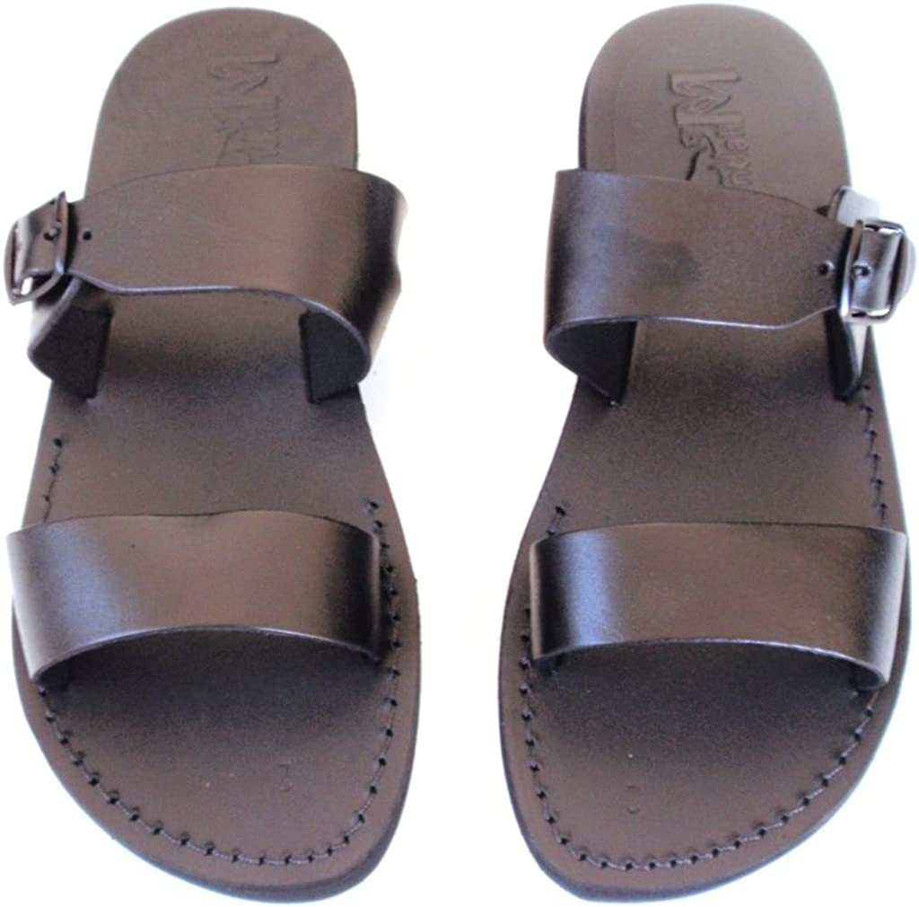 SANDALIM Leather Sandals Biblical Flip Flops Unisex Beautiful Comfortable 11 Colors Michael Style