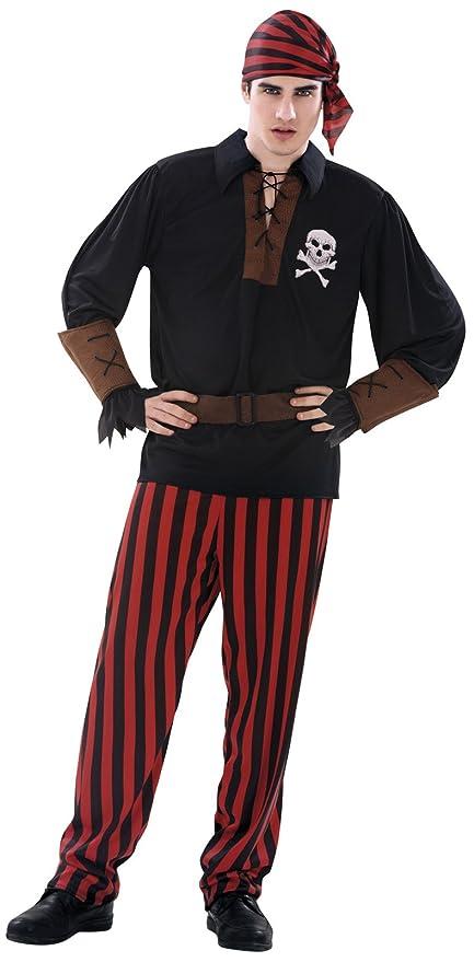 My Other Me Me-203658 Disfraz de pirata bandana para hombre, S ...