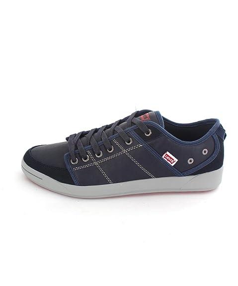 Zapatillas Levis Marino Piel 43 Marino: Amazon.es: Zapatos y complementos
