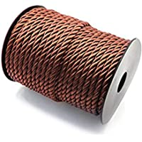 RUBY-Cordón Trenzado, Cordón Rayon 5.5mm, Bobina de 30