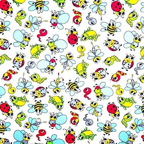 MARINE coins tissu enfants tissu de coton au mètre pour coudre enfants ba011