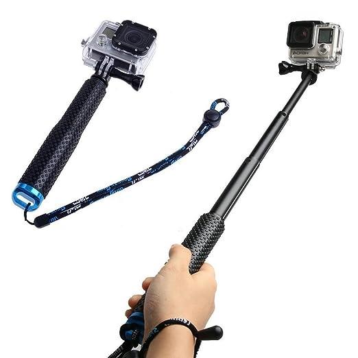 2 opinioni per Bastone Selfie, CAMTOA Selfie Stick Impermeabile, Regolabile Monopiede