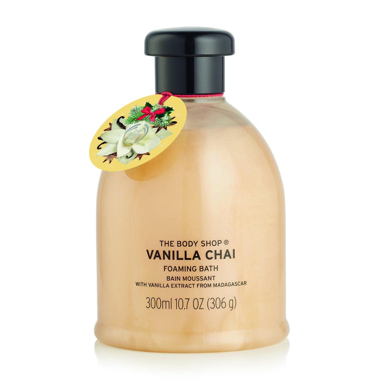 THE BODY SHOP VANILLA CHAI FOAMING BATH 300ML