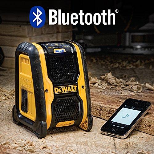 DEWALT DCR006 Jobsite Bluetooth Speaker by DEWALT (Image #3)