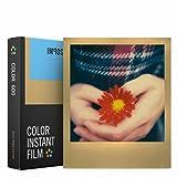 Impossible 4526Pellicola per istantanee a colori per Polaroid 600, da 8scatti, con cornice dorata