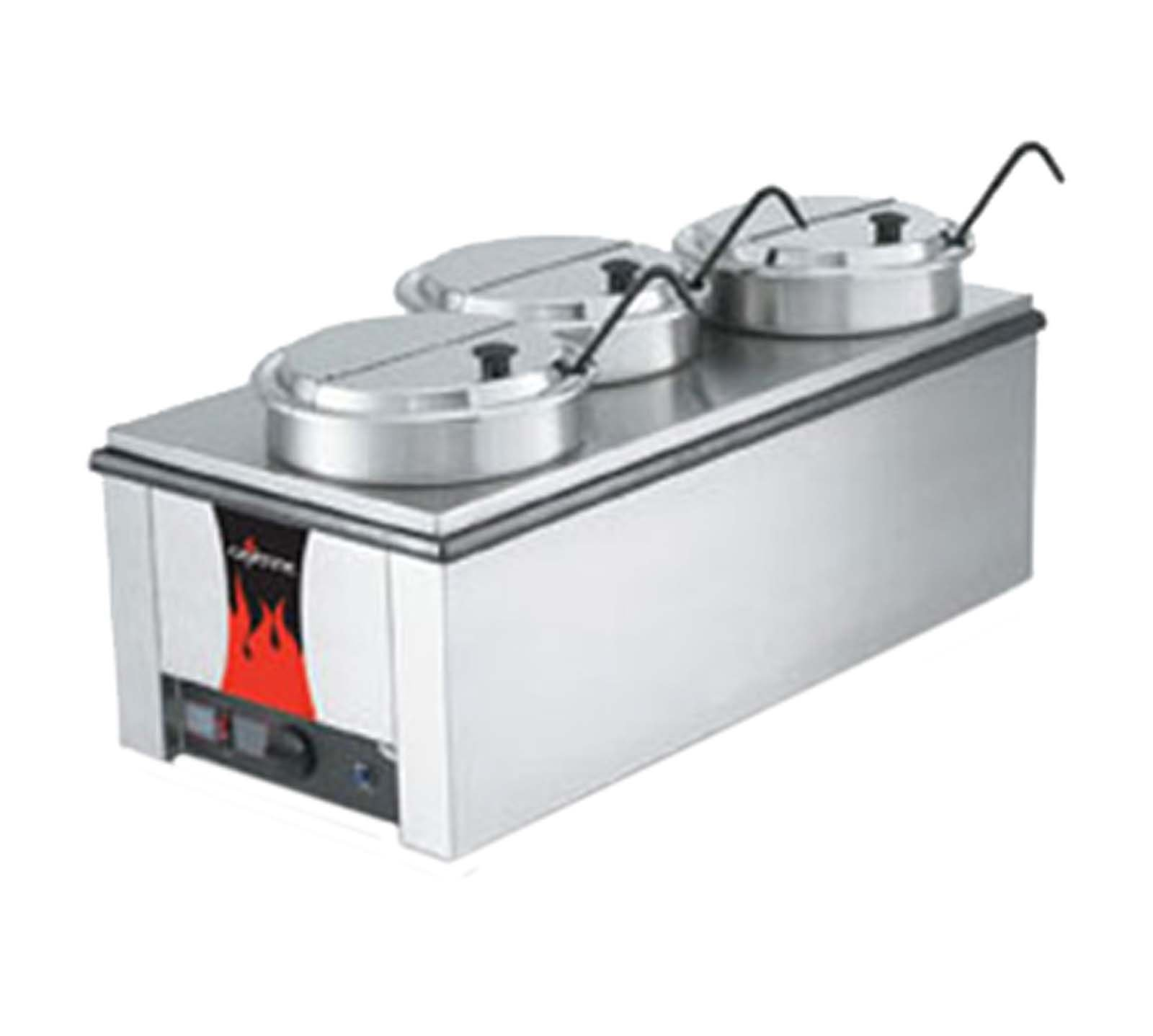 Vollrath 72788 Cayenne 4/3 Counter Warmer w/Accessory Kit