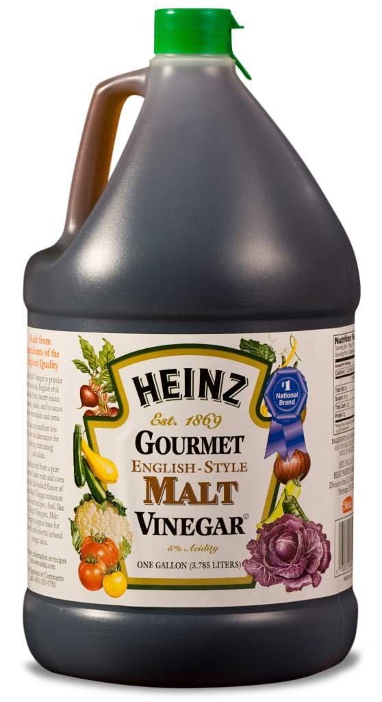 Heinz Malt Vinegar (1 gal Jugs, Pack of 4) by Heinz
