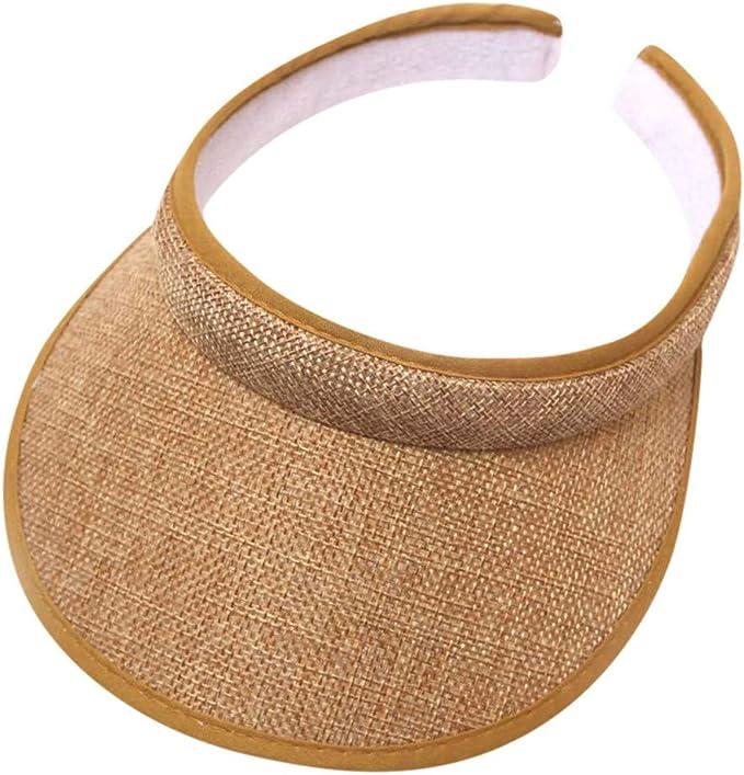 Sonnenhüte UV-Schutzkappe Strandhut Lässig Damen Sommerkappen Pferdeschwanz