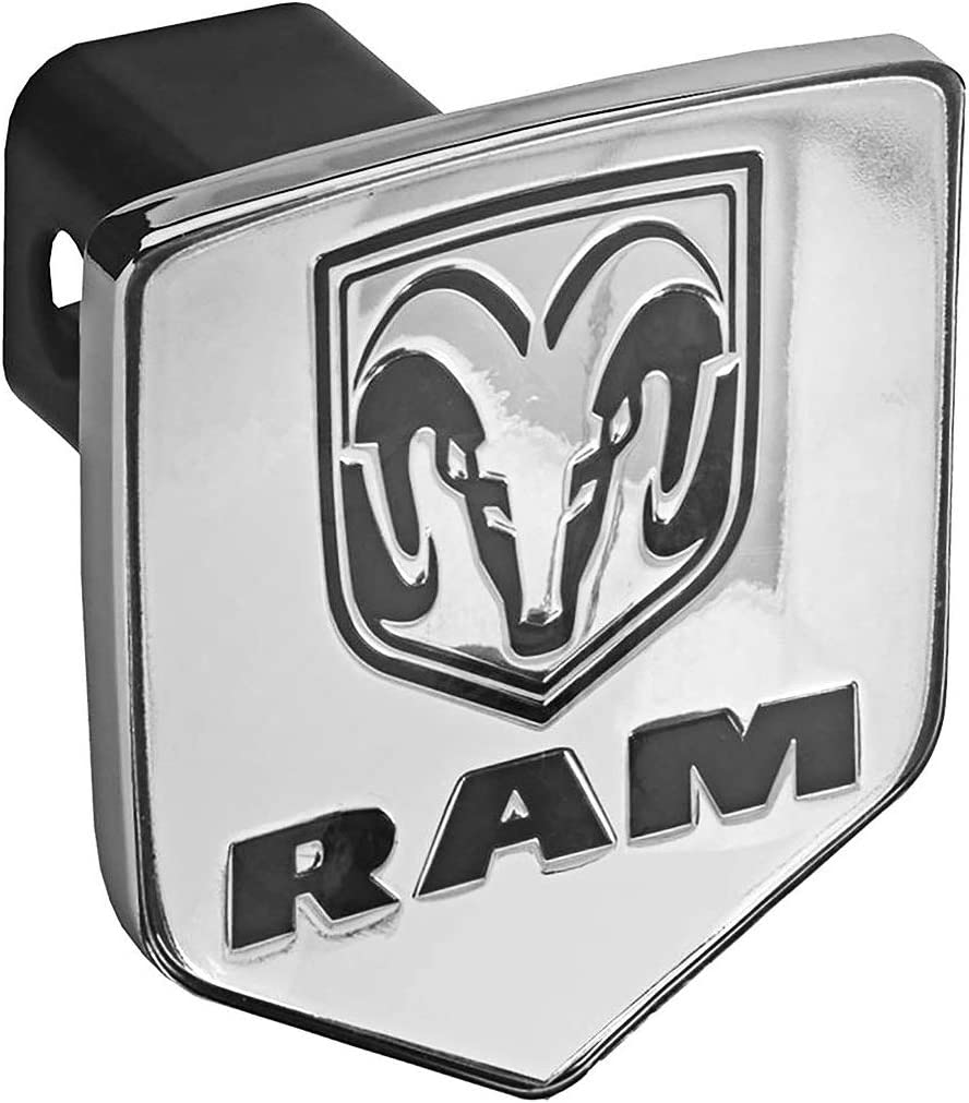 Bully CR-311 Dodge RAM Logo Truck Trailer Hitch Receiver Cover