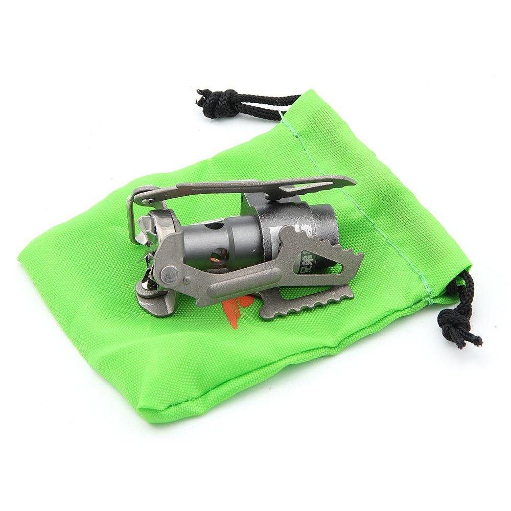 Miniatur f/ür Picknick Gaskocher Campingherd Brs BRS-3000t ultraleichte Titanlegierung nur 25/g schwer tragbar