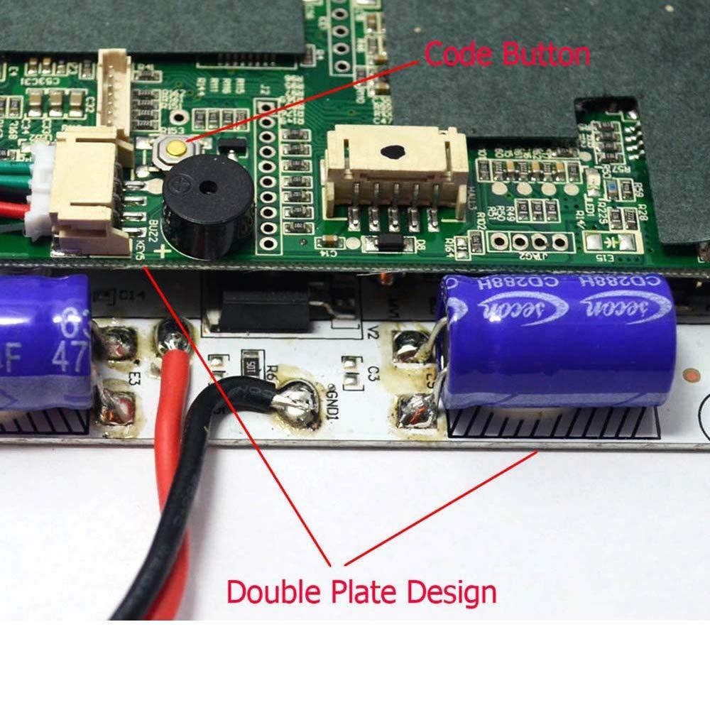 TOOGOO Skateboard Controller Skateboard Dual Drive Controller Skateboard High Power Driver Board