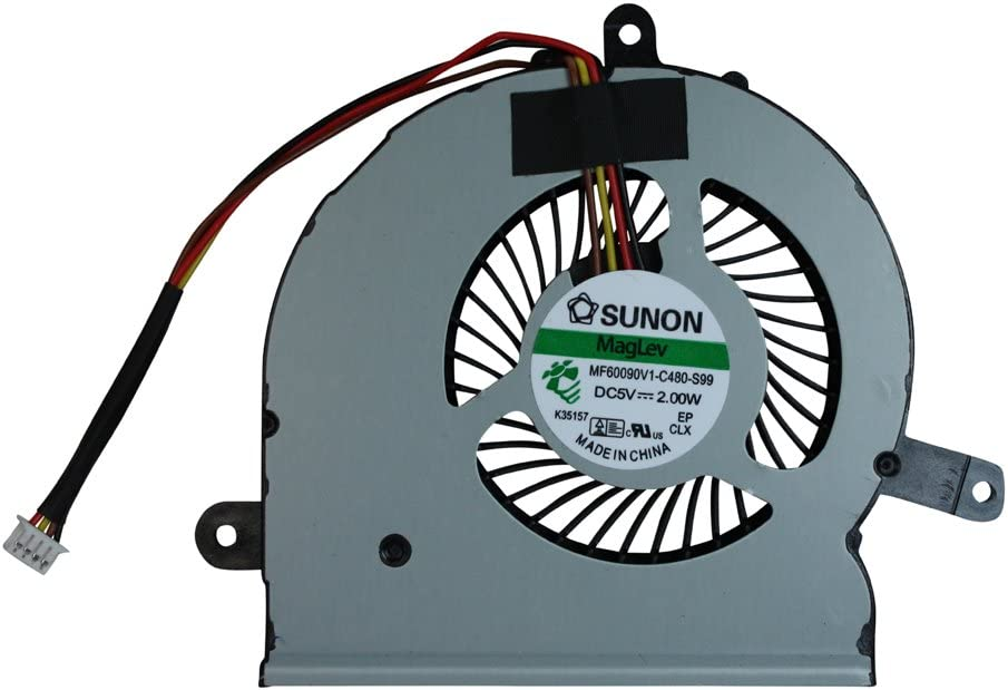 Power4Laptops Replacement Laptop Fan for Lenovo Ideapad Y510P