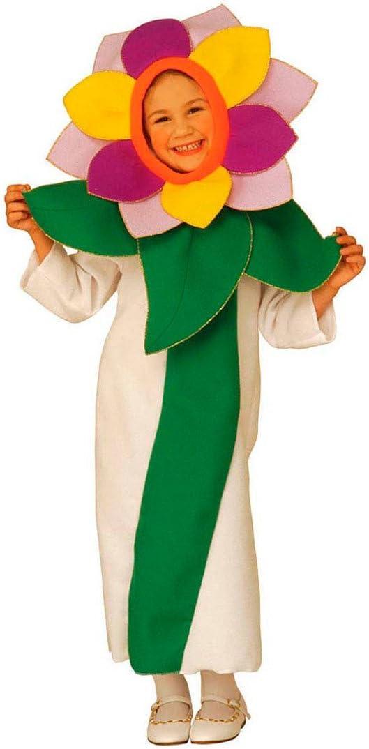 NET TOYS Disfraz de Flor Infantil Traje Carnaval niño niña Flores ...