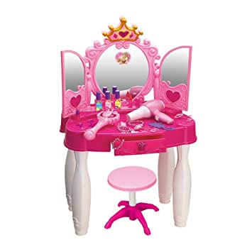 Amazoncom Gili Girls Vanity Playset Dresser Pretend Play With